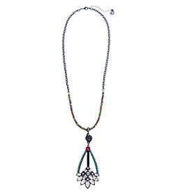 Erica Lyons Hematite Long Pond Necklace