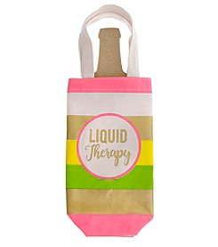 Erica Lyons Striped Liquid Therapy Wine Bag