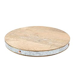 Thirstystone Metal Inlay Mango Wood Serving Board