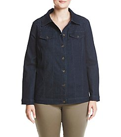 Alfred Dunner® Plus Size Denim Jacket