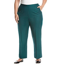 Alfred Dunner Plus Size Short Pants