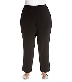 Alfred Dunner Plus Size Knit Pants