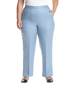 Alfred Dunner Plus Size Pleat Pants
