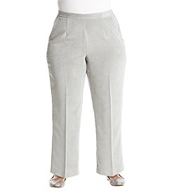 Alfred Dunner Plus Size Corduroy Pants