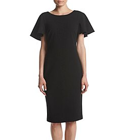 Calvin Klein Flutter Sleeve Dress