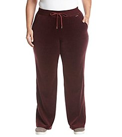 MICHAEL Michael Kors Plus Size Pull On Velour Pants