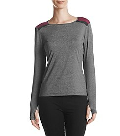 Ivanka Trump Colorblocked Shoulder Tee