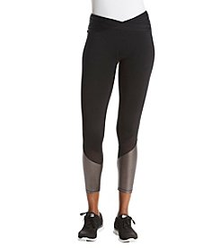 Ivanka Trump® Athleisure Color Blocked Wide Waist Legging