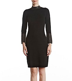 Calvin Klein Stud Neck Dress