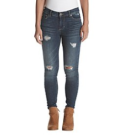 Ruff Hewn Petites' Distressed Detail Jeans
