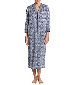 Miss Elaine Long Floral Robe