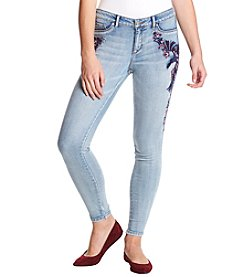 Jessica Simpson Kiss Me Skinny Embroidered Sequin Jeans