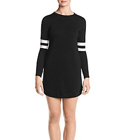 no comment Football Sleeve Lounge Dress