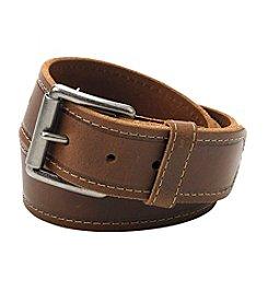 Levi's® Men's Leather Roller Buckle Belt