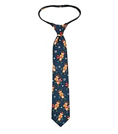 Statements Boys' Novelty Reindeer Tie
