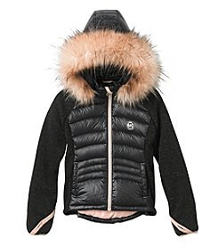 Michael Kors Girls' 7-16 Mo Bubbles Puffer Jacket