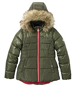 MICHAEL Michael Kors Girls' 7-14 Hilo Puffer Jacket