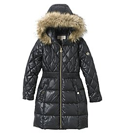 MICHAEL Michael Kors Girls' 7-16 Full Length Puffer Jacket
