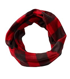 V. Fraas Buffalo Check Loop Scarf