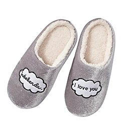 Collection 18 I Love You Weekends Slippers