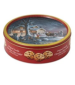 Elite Gourmet Original Double Chocolate Chip Cookie Tin