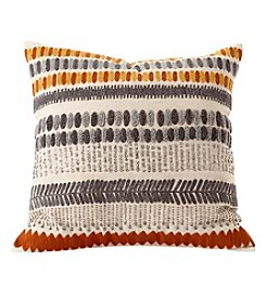 Ruff Hewn Embroidered Pillow