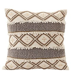 Ruff Hewn Beaded Decorative Pillow