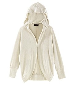 It's Our Time Girls' 7-16 Hooded Cocoon Cardigan