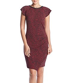 MICHAEL Michael Kors Cheetah Ruffle Dress