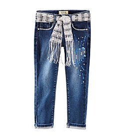 Squeeze® Girls' 2T-6X Glitter Heart Denim Jeans