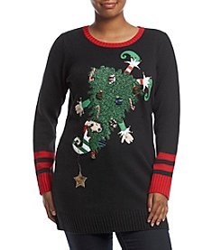 Love Always Plus Size Upside Down Elf Tunic
