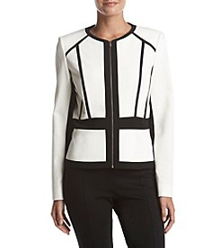 Calvin Klein Zip Suit Jacket
