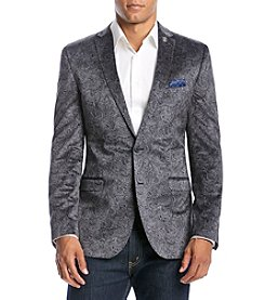 Nick Graham Men's Paisley Velvet Sport Coat