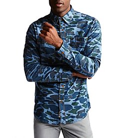 Weatherproof Vintage® Printed Camo Denim Shirt