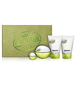 DKNY Be Delicious 4 Piece Holiday Gift Set