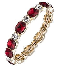 Anne Klein® Red Stretch Bracelet
