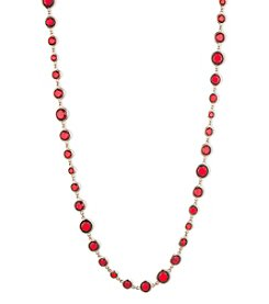 Anne Klein® Red Strand Necklace