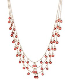 Anne Klein® Red Shaky Necklace