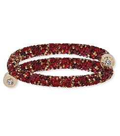 Anne Klein® Red Wrap Bracelet
