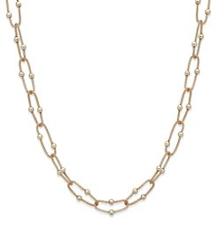 Anne Klein® Goldtone Strand Necklace