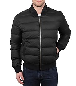 William Rast® Quilted Down Varsity Jacket