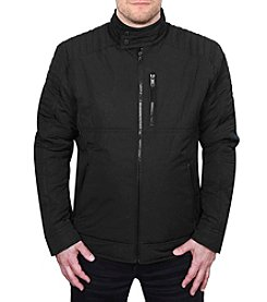 William Rast® Men's Quilted Bomber Jacket