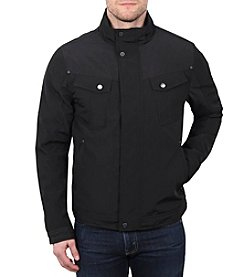 William Rast® Micro Tech Bomber Jacket
