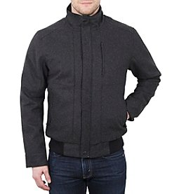 William Rast® Waterproof Wool Bomber Jacket