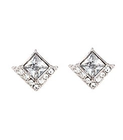 Vince Camuto™ Square Stone Stud Earrings
