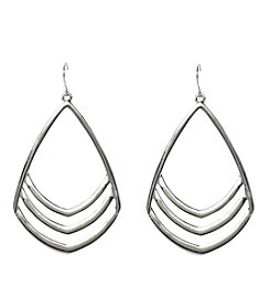 Vince Camuto™ Chevron Drop Earrings