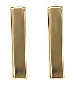 Vince Camuto™ Vertical Bar Stud Earrings