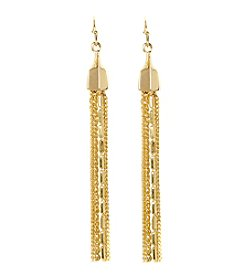 Vince Camuto™ Multi-chain Fringe Linear Earrings