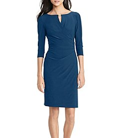 Lauren Ralph Lauren® Pleated Jersey Dress