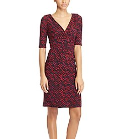 Lauren Ralph Lauren® Printed Jersey Dress